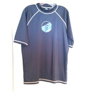 Kanu Surf Mens Mercury Swim Shirt / Rashguard